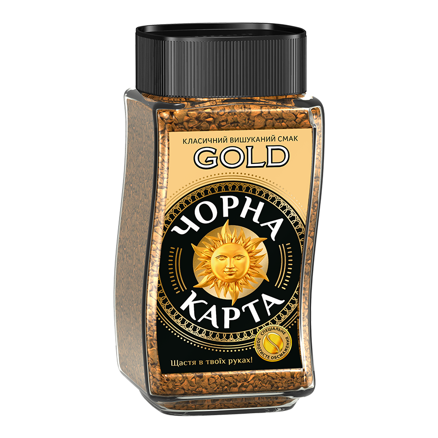 Instant «Gold» coffee «CHORNA KARTA»