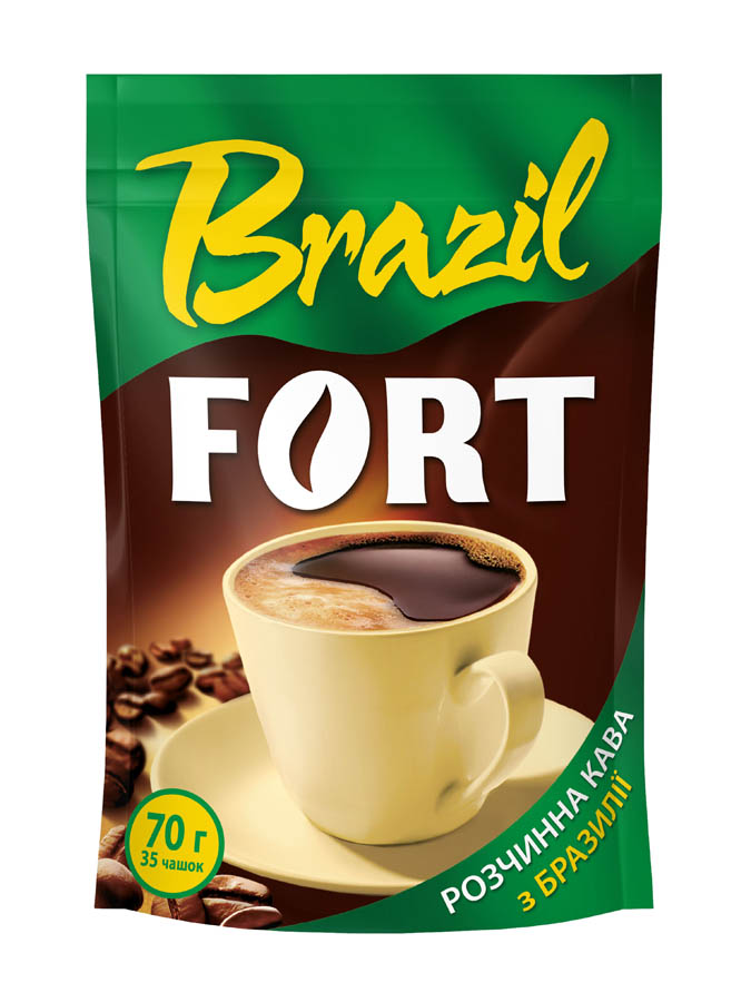 Instant powder coffee FORT BRAZIL