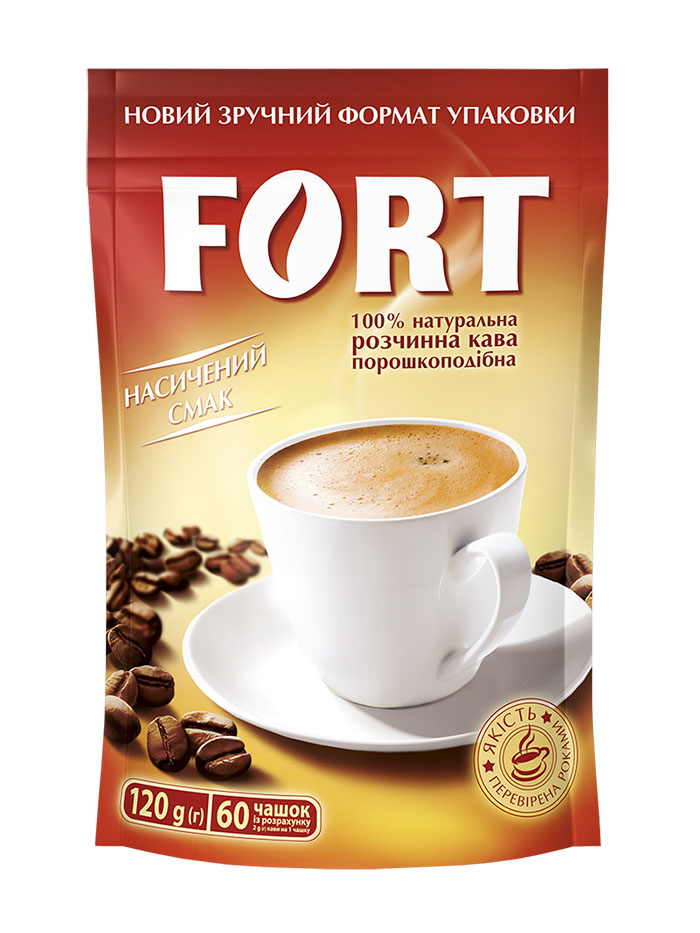 Instant powder coffee FORT