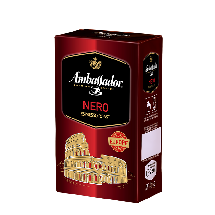 Ground coffee AMBASSADOR NERO