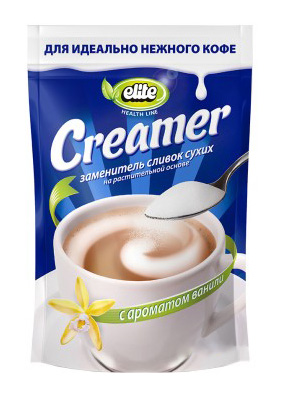 Cream substitute Creamer ELITE HEALTH LINE