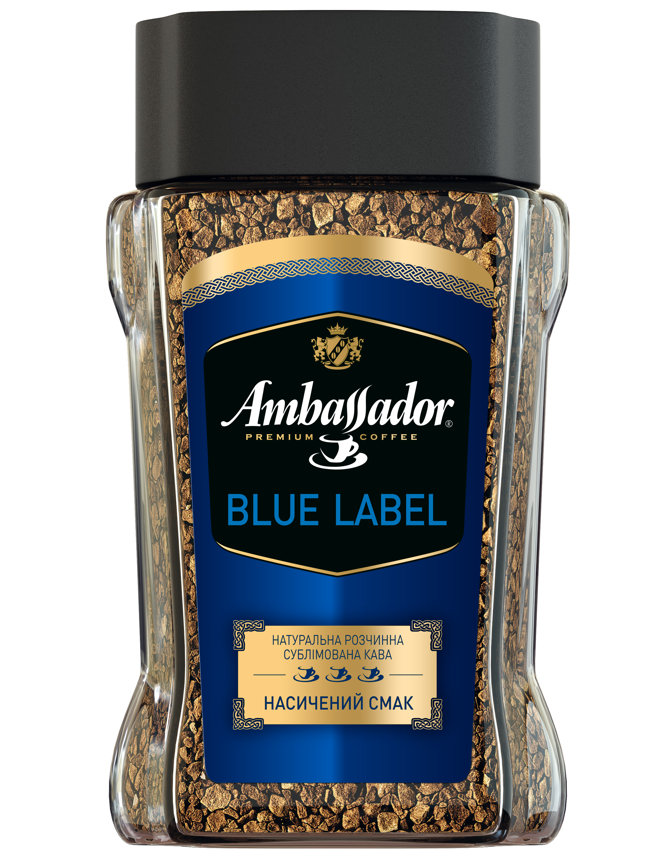 Кофе растворимый сублимированный AMBASSADOR BLUE LABEL
