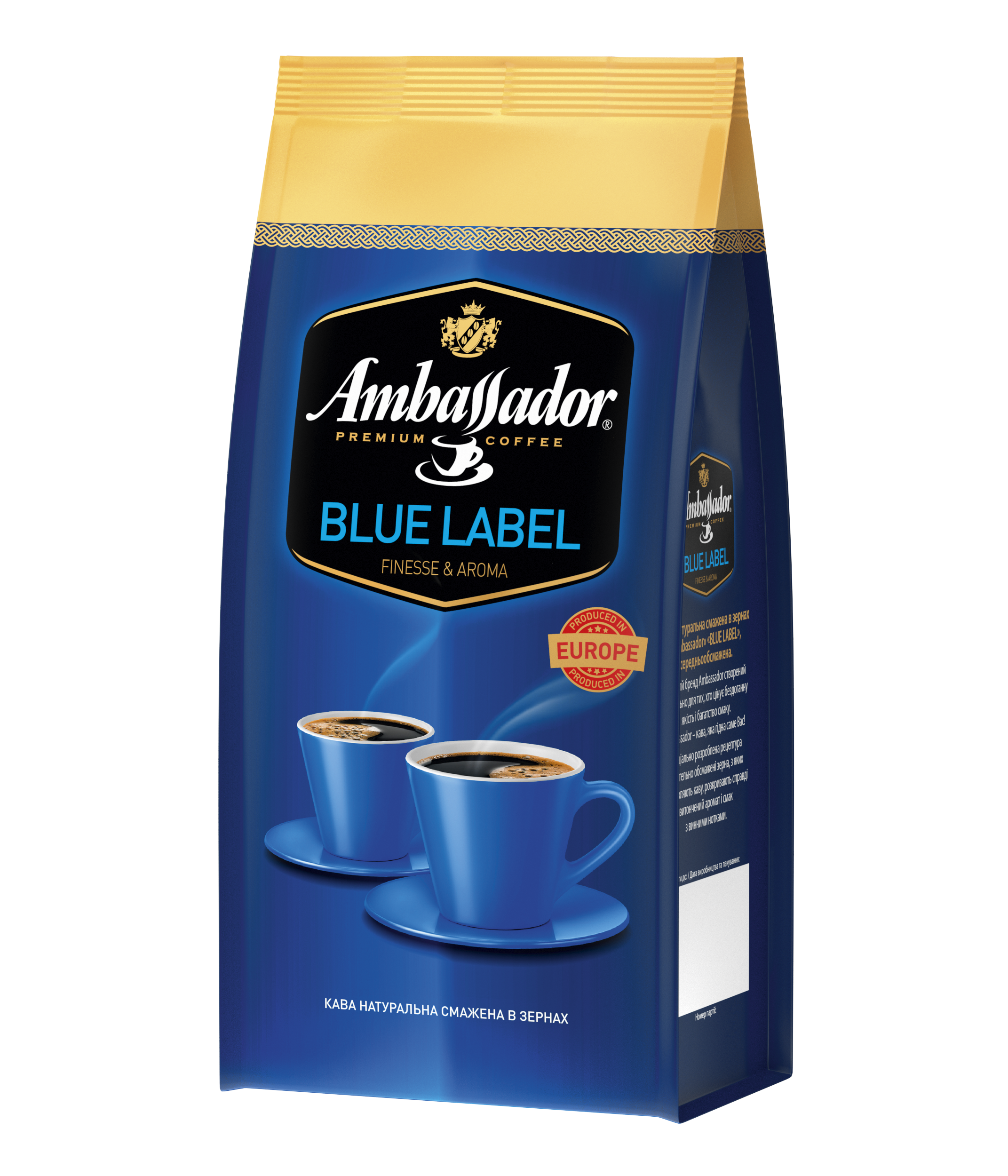 Coffee beans AMBASSADOR BLUE LABEL