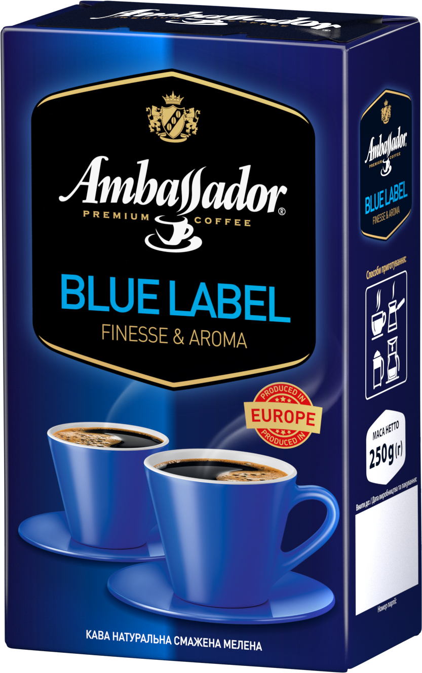 Ground coffee AMBASSADOR BLUE LABEL