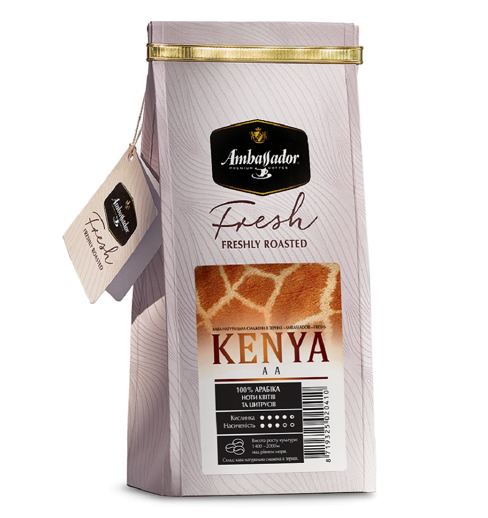 Kenya AA 200 г whole beans/ground