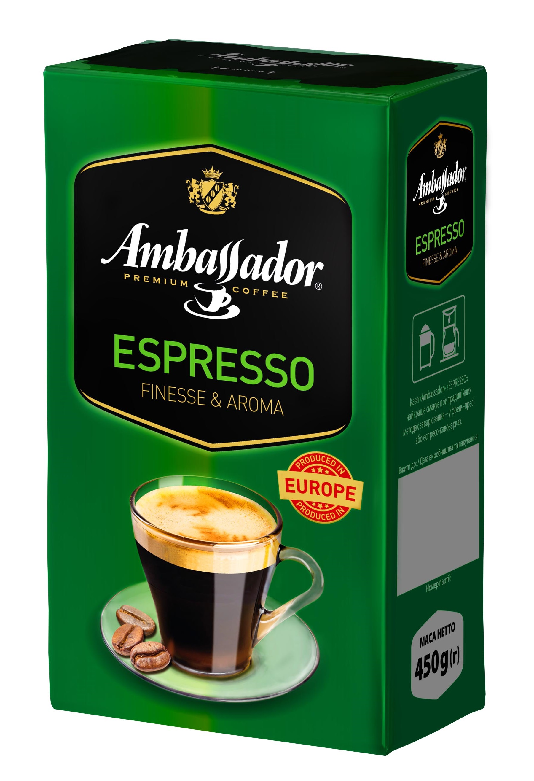 Ground coffee AMBASSADOR ESPRESSO