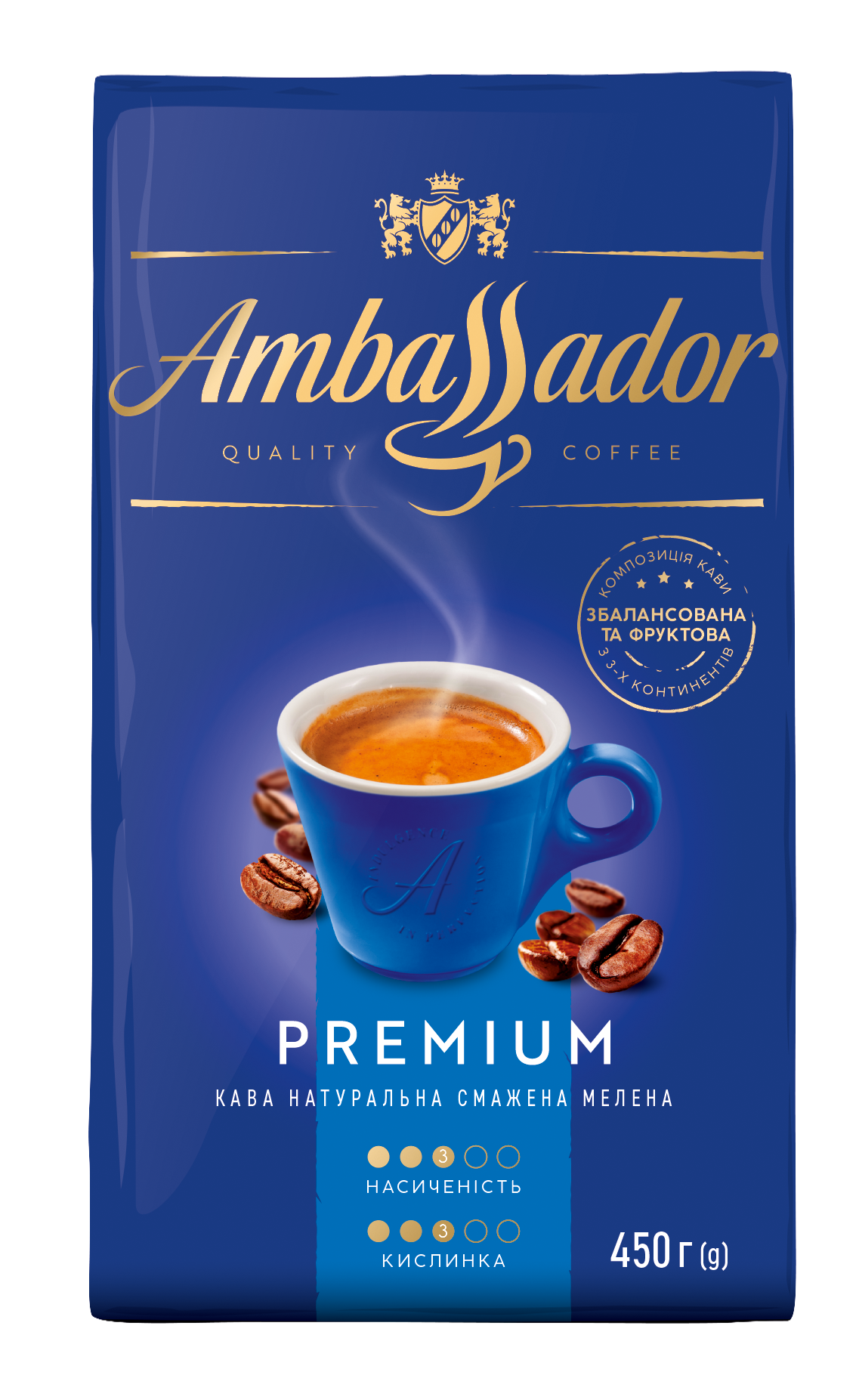 Coffee Ambassador Premium 450 g ground