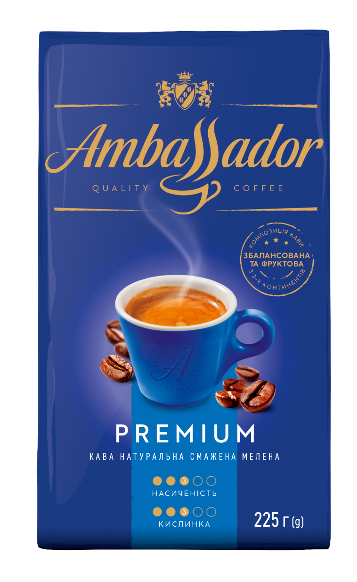 Coffee Ambassador Premium 225 g ground